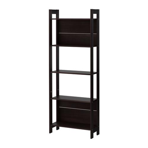 IKEA(イケア) LAIVA 書棚 ブラックブラウン b20178592