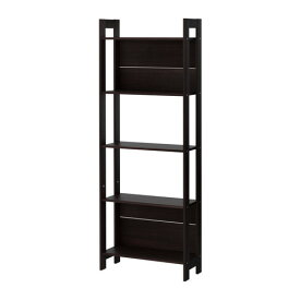 IKEA イケア LAIVA 書棚 ブラックブラウン b20178592