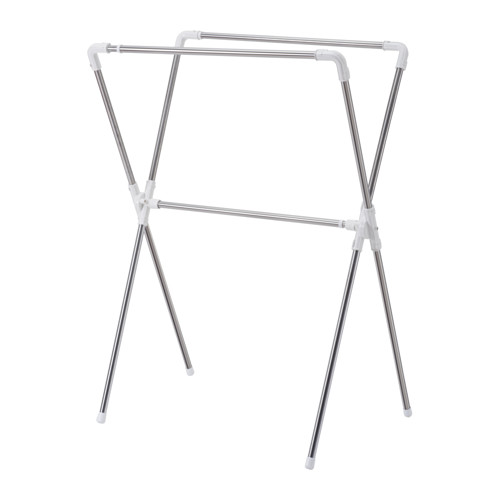 IKEA(イケア) REKIS 洋服ラック 室内/屋外用 シルバーカラー d20273669