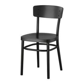 IKEA イケア IDOLF チェア ブラック z20363325