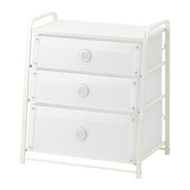 IKEA イケア LOTE チェスト(引き出し×3) ホワイト d30293723