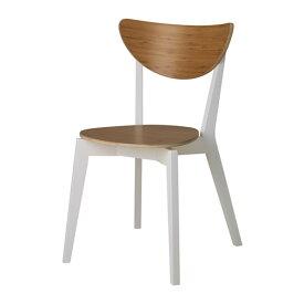 IKEA イケア NORDMYRA チェア 竹 ホワイト 白 c30373362