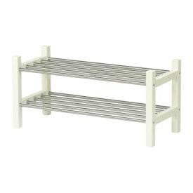 IKEA イケア TJUSIG シューズラック ホワイト d50160958
