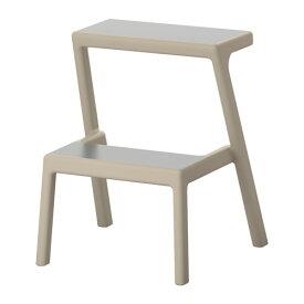IKEA イケア MASTERBY ステップスツール ベージュ c50332078