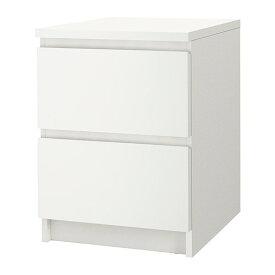 IKEA イケア MALM チェスト(引き出し×2) 10354642