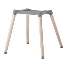 IKEA イケア ERNFRID 下部フレーム バーチ シルバーカラー c70287975