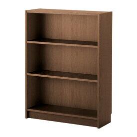 IKEA イケア BILLY 書棚 ブラウン アッシュ材突き板(幅広3段152) F70351527
