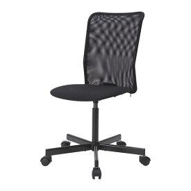IKEA イケア TOBERGET 回転チェア デスク用チェア ヴィースレ ブラック 黒 z70392660