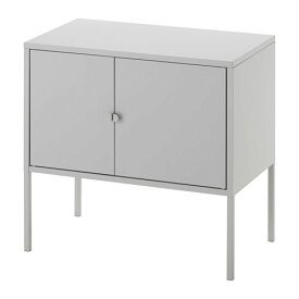IKEA イケア LIXHULT キャビネット メタル グレー d80328678