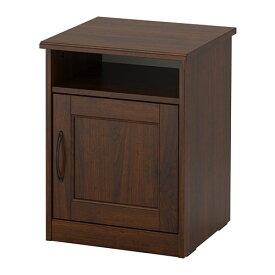 IKEA イケア SONGESAND ソンゲサンド ベッドサイドテーブル ブラウン 42x40cm z90367443
