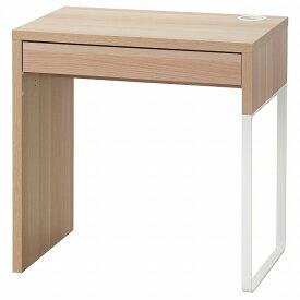 IKEA イケア デスク ホワイトステインオーク調 73x50cm n00488883 MICKE ミッケ