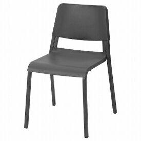 IKEA イケア チェア ダークグレー n20484228 TEODORES