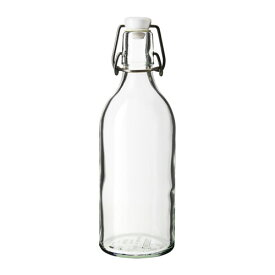 IKEA イケア KORKEN ボトル ふた付き クリアガラス a00322473