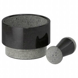 IKEA イケア ADELSTEN 乳棒&乳鉢 大理石 ブラック 20201620