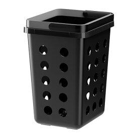 IKEA イケア VARIERA 分別ゴミ箱 通気孔付き ブラック 20271222
