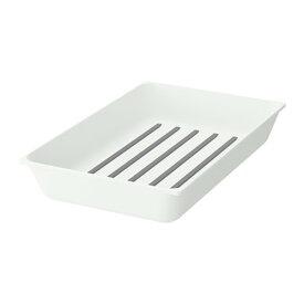 IKEA イケア VARIERA キッチンツール用トレイ ホワイト 50315795