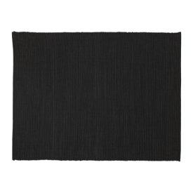 IKEA イケア ランチョンマット ブラック 黒 a60246184 MARIT