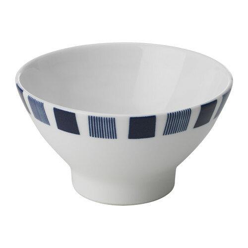 IKEA(イケア) GJUTFORM 茶碗/小鉢 ブルー ホワイト d60339098