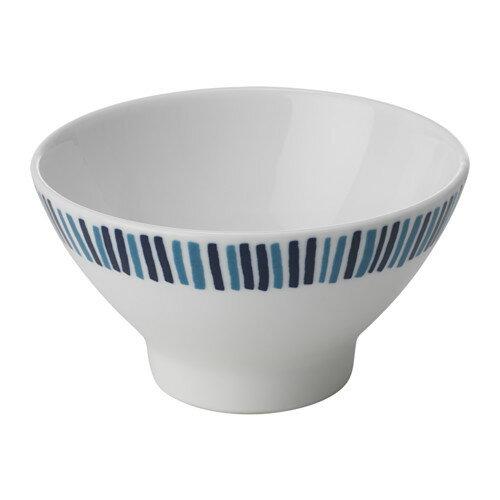 IKEA(イケア) FOLIEFORM 茶碗/小鉢 ブルー ホワイト d80339101