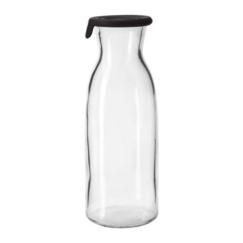 IKEA(イケア) VARDAGEN カラフェ ふた付き クリアガラス d90291924
