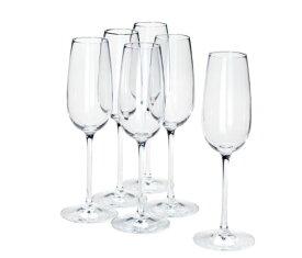 IKEA イケア STORSINT シャンパングラス クリアガラス 6個セット n00396317
