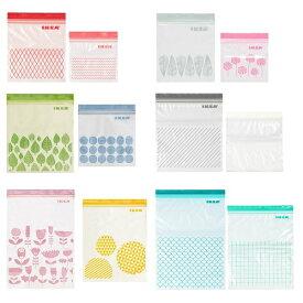 IKEA イケア ISTAD プラスチック袋 フリーザーバック 2サイズセット v0910