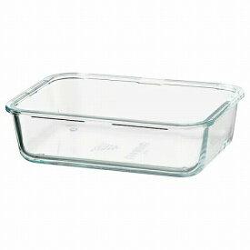 IKEA イケア 保存容器のみ 長方形 ガラス 1.0L z10359201 IKEA 365+