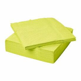 IKEA イケア FANTASTISK 紙ナプキン ライトグリーン n30444920