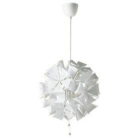 IKEA イケア ペンダントランプ 幾何学模様 ホワイト 白 n00407108 RAMSELE