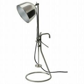 IKEA イケア クリップ式テーブルランプ ステンレススチール n00454543 RAVAROR
