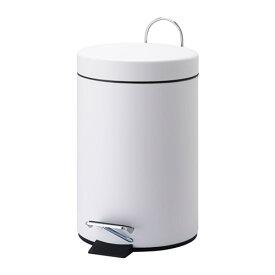 IKEA イケア VORGOD ペダル式ゴミ箱 ホワイト d20284979
