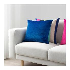 IKEA イケア VENCHE ヴェンシェ クッションカバー ブルー z20392950