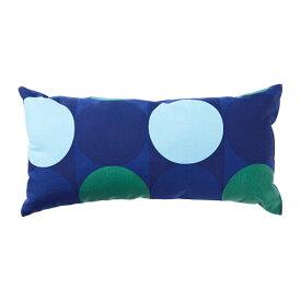 IKEA イケア KROKUSLILJA クロクスリリア クッション ブルー グリーン z30425846