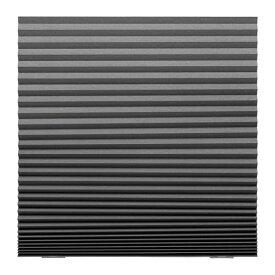 IKEA イケア SCHOTTIS ショッティス 遮光プリーツブラインド ダークグレー z70369508
