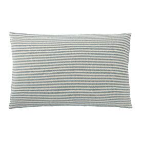 IKEA イケア SNOFRID スノフリード クッションカバー ターコイズ ホワイト z70414921