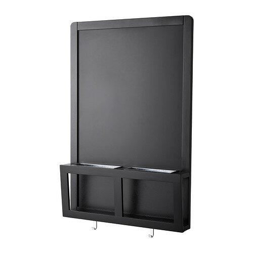IKEA(イケア) LUNS 黒板/マグネットボード ブラック d80267241