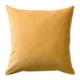 IKEA イケア SANELA サネーラ クッションカバー ゴールデンブラウン z80370158