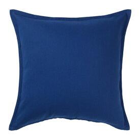 IKEA イケア GURLI グルリ クッションカバー ダークブルー z80426202