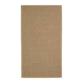 IKEA イケア HELLESTED ラグ 平織り ナチュラル ブラウン z00407995