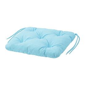 IKEA イケア チェアクッション 屋外用 ライトブルー KUDDARNA n00411073