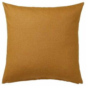IKEA イケア クッションカバー ダークゴールデンブラウン 50x50cm n60456544 VIGDIS