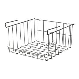 IKEA イケア OBSERVATOR クリップオンバスケット グレーブラウン d00312493