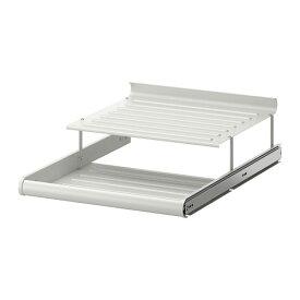 IKEA イケア KOMPLEMENT 引き出し式シューズシェルフ ホワイト a20257462