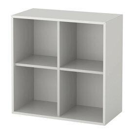 IKEA イケア EKET キャビネット 4コンパートメント ライトグレー b30333955