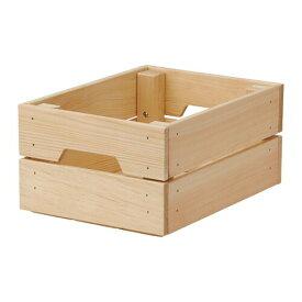 IKEA イケア KNAGGLIG ボックス パイン材 d50292360