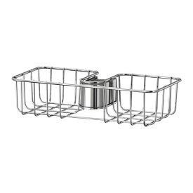 IKEA イケア VOXNAN ヴォクスナン シャワーシェルフ クロムメッキ z50328590