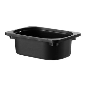 IKEA イケア 収納ボックス ブラック 黒 80252579 TROFAST