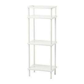 IKEA イケア DYNAN シュルフユニット タオル掛け付き ホワイト b80318170