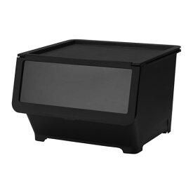 IKEA イケア ふた付きボックス ブラック 黒 d90339935 FIRRA