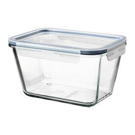 IKEA イケア 保存容器 ふた付き 長方形 ガラス プラスチック 1.8L z99269075 IKEA 365+